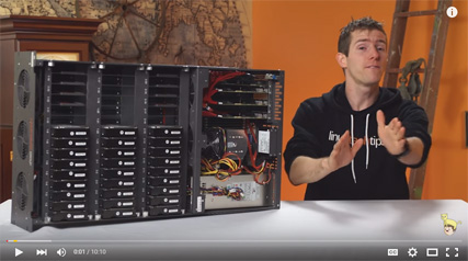 How Linus Sebastian hit 1Gb/s using unRAID on his Storinator
